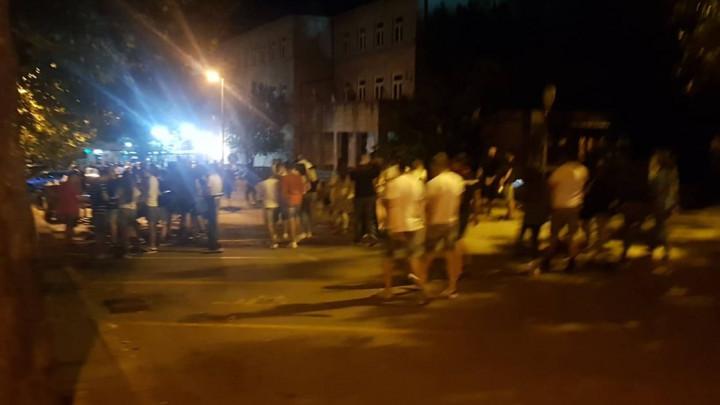 Sukob policije i navijača u Širokom Brijegu