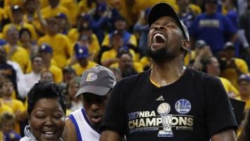 Durant: LeBron je jedini koji mi može parirati