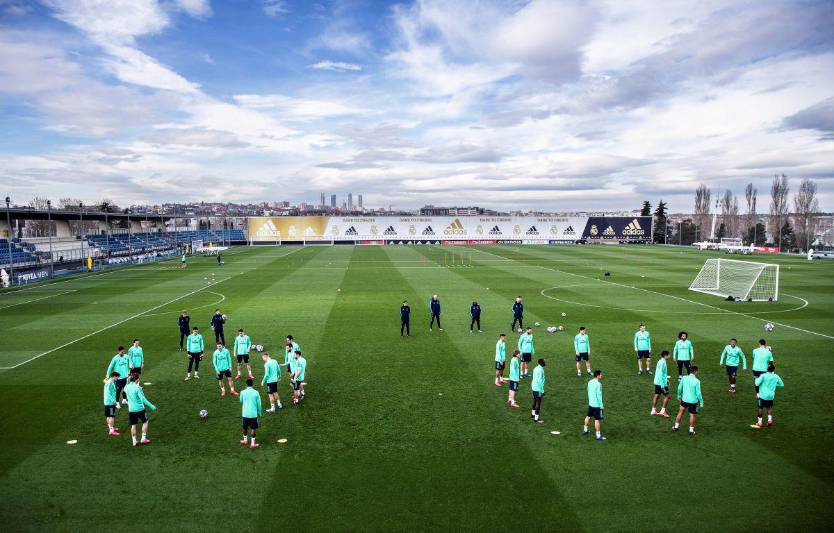 Minuta šutnje na treningu Real Madrida