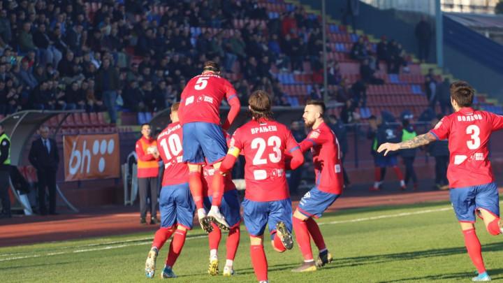 FK Borac pobjedom nad FK Sloboda zaključio sjajnu polusezonu
