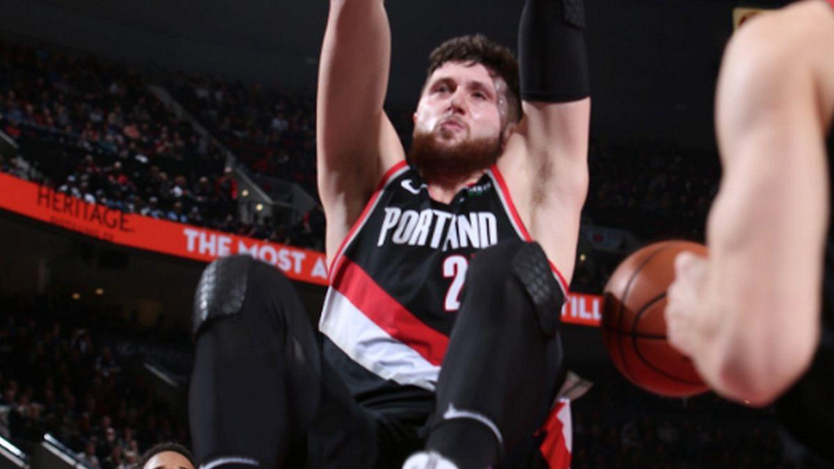 Nurkić ubacio 18 poena uz deset skokova, Luka Dončić demolirao Portland u posljednjoj dionici