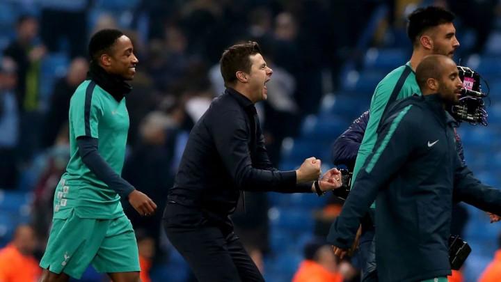 Nogometaši Tottenhema su itekako znali proslaviti senzaciju protiv Manchester Cityja