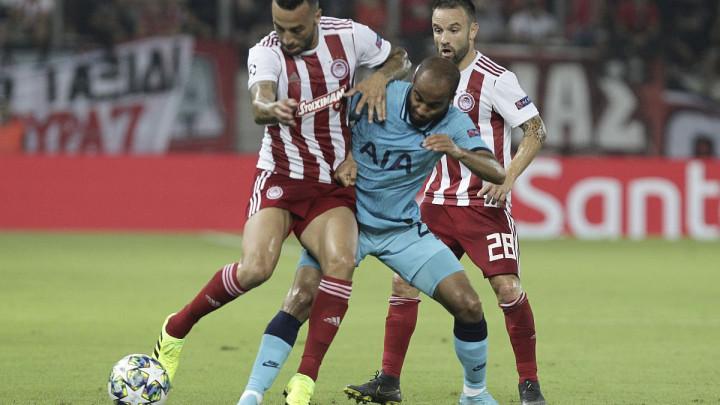 Tottenham vodio 2:0 pa osvojio samo bod u Pireju, Club Brugge i Galata bez golova