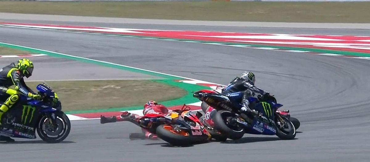 """Marquez najbrži na stazi u Katalunji, Lorenzeov """"harakiri"""" obilježio utrku"""