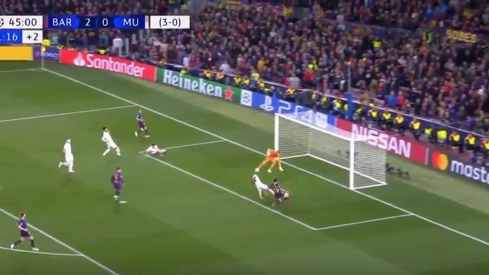 De Gea je čudesnom odbranom spriječio Barcelonu da postigne i treći gol