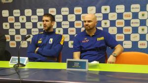 Bosnić: Ponosan sam na igrače, tih 30 minuta je bio level o kojem sanjamo