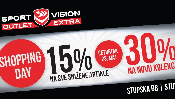 Shopping Day u Sport Vision Outlet Extra