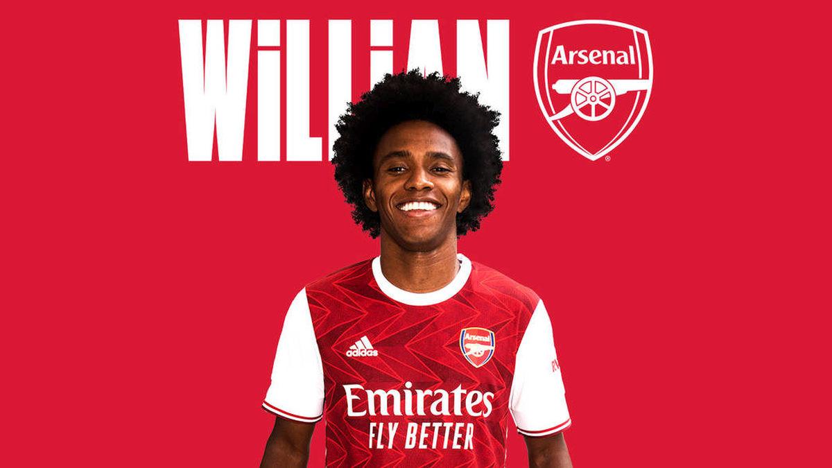 Arsenal predstavio Williana: Brazilac izabrao zanimljiv broj