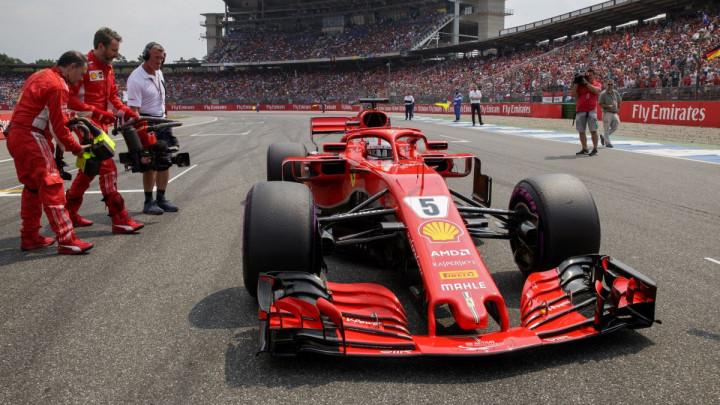 Vettel na drugom treningu iza sebe ostavio dvojac Red Bulla