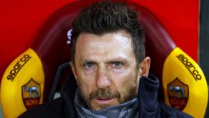 Di Francesco: Volio bih da Džeko ima dvocifren broj golova, ali postali smo drugačija ekipa