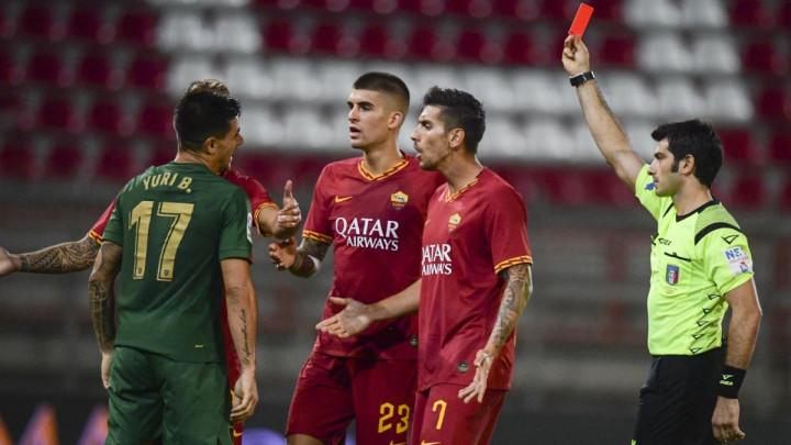 Spektakularan gol Kolarova u remiju Rome, Džeko i Kodro igrali u drugom poluvremenu