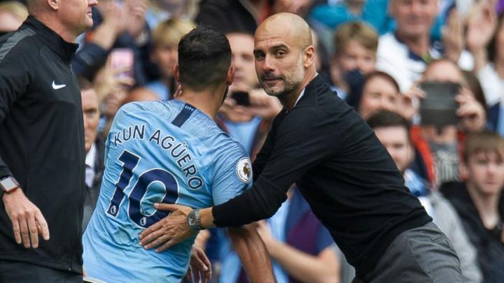 Guardiola: Aguero nije 100% spreman, još se muči sa stopalom