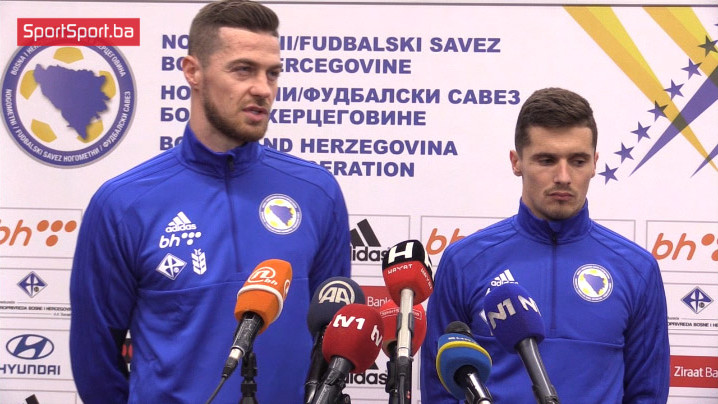 Šehić i Cimirot složni: Uz maksimalan angažman do šest bodova