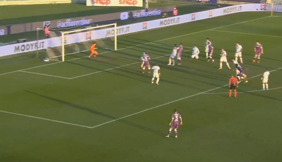 Spektakularan gol Fiorentine, Handanović se nije ni pomakao