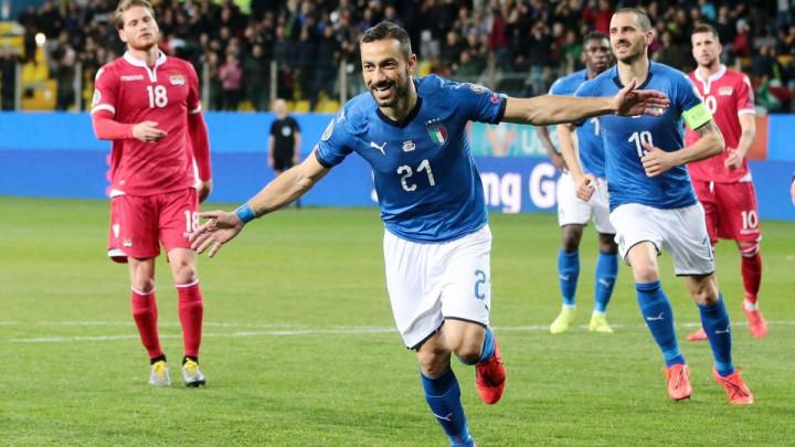 Azzurri pregazili Lihtenštajn, priča večeri je Fabio Quagliarella