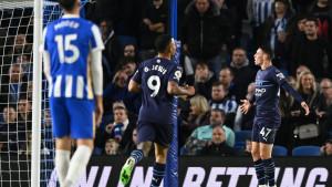 Manchester City bez problema slavio u Brightonu
