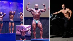 """Tri mjeseca """"patnje"""": Bećarević """"pošamarao"""" premijerna takmičenja u bodybuildingu"""