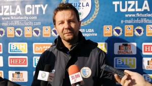 "Tuzla City bez ""pola"" ekipe protiv Čelika, Baljić ipak optimističan"