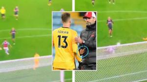 Izgubio kompas: Adrian je primio sedam golova, ali je nečim drugim privukao pažnju