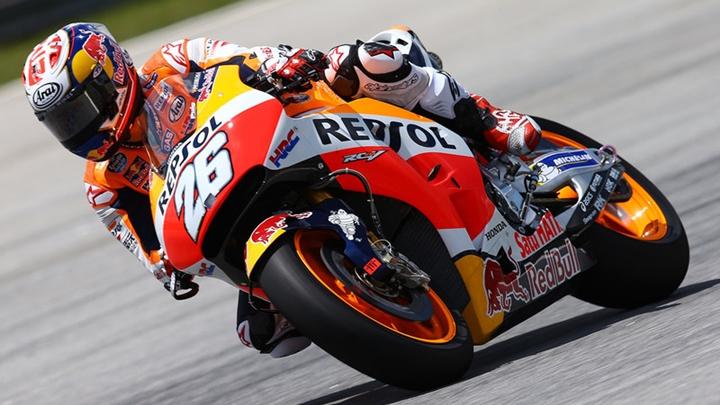 Pedrosi pol pozicija, Rossi tek sedmi