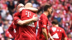 """Ribery """"ispratio"""" Robbena u penziju"""