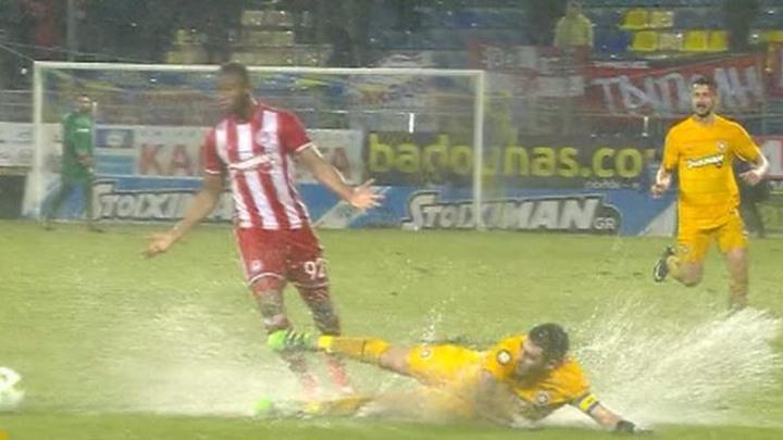Olympiakos odigrao utakmicu u nemogućim uvjetima