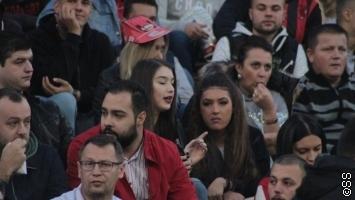 Dolazak Željezničara privukao navijače na Tušanj
