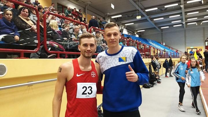 Sjajan nastup mladog atletičara: Evropski prvak završio iza Maida Redžića