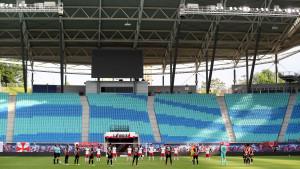 Organizacija utakmice u doba pandemije: Leipzig posudio opremu od lokalnog aerodroma