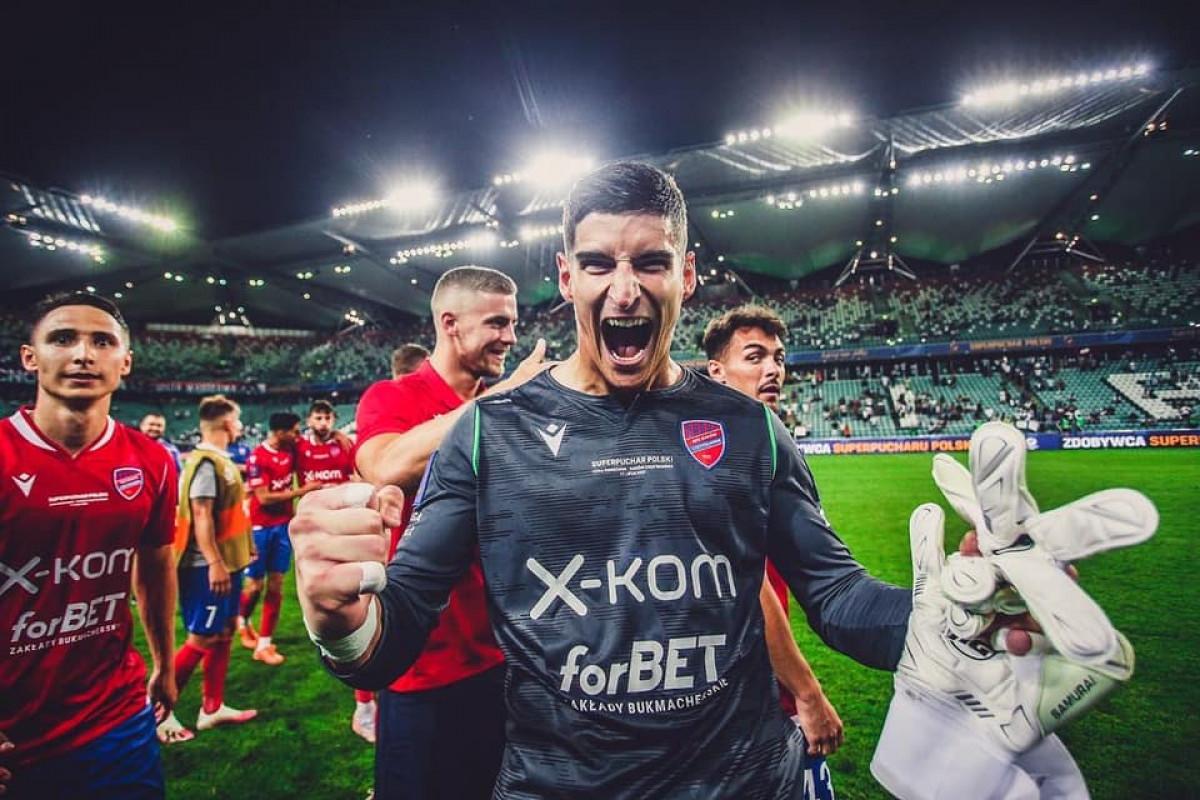 Vladan Kovačević donio trofej Rakowu! - SportSport.ba