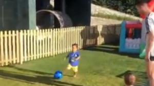 Ronaldov mlađi sin Mateo oduševio javnost i pokazao da njegov otac ima nasljednika