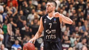 Partizan nastavio niz, dobra partija Gordića