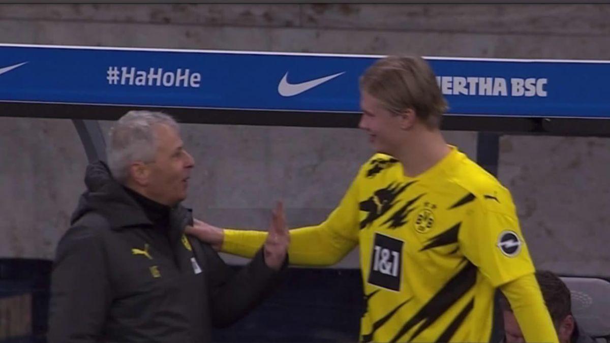 Haaland treneru objašnjavao koliko golova je postigao: Favre dobio urnebesan odgovor