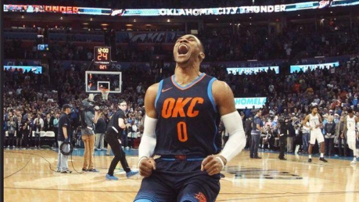 Simultanka Russella Westbrooka za pobjedu Oklahome