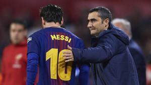 Valverde: Nisam zabrinut, Messi je sigurna opklada