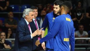 Marca: Pešić na rubu otkaza, igrači Barcelone nezadovoljni sa njegovim metodama rada