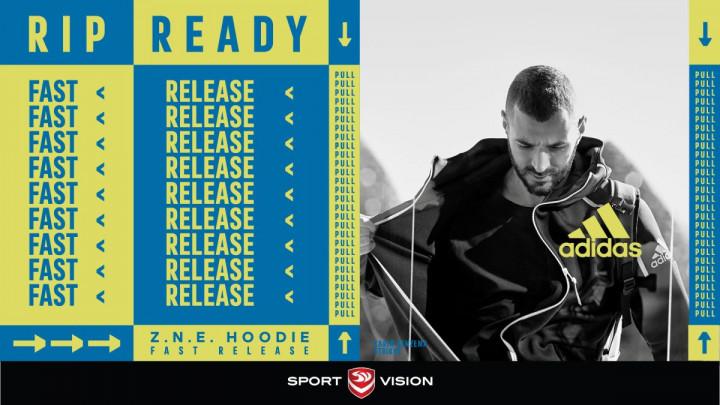 Spremni u djeliću sekunde: Nova adidas Z.N.E. dukserice