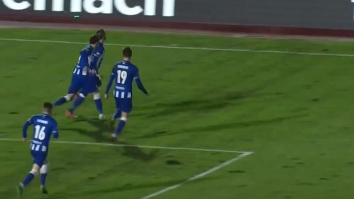 Preokret Željezničara, Krpić pogodio za 1:2