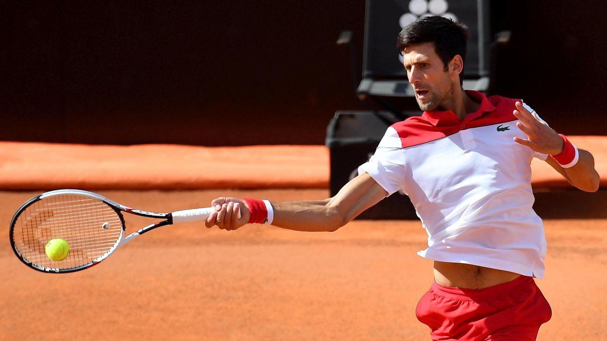 Novak nastavlja put u Rimu