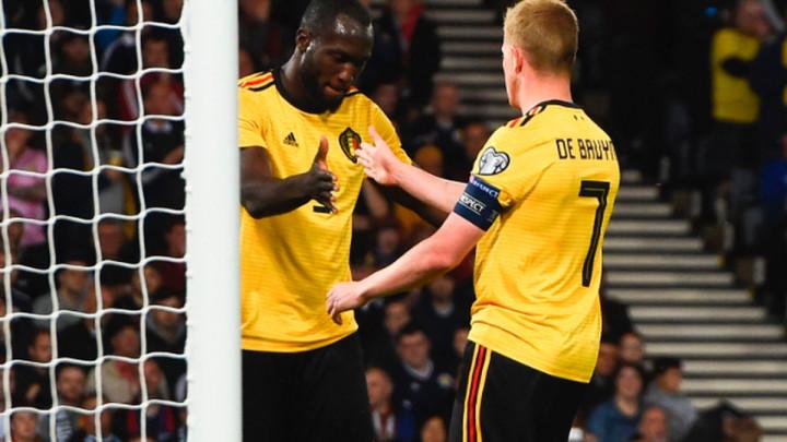 De Bruyne gol i tri asistencije, Belgija završila posao, izvjesno je da će na EP i Rusi