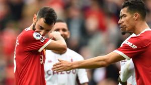 Penal izazvao buru u Unitedu: Bruno ignorisao Ronalda i ostavio ga bez komentara