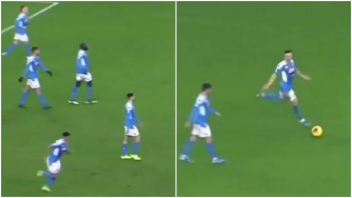 Da je situacija u Napoliju katastrofalna, pokazuje i detalj sa meča protiv Udinesea