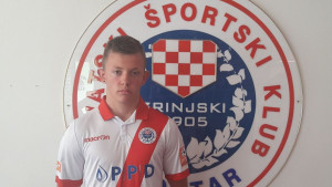 Stanić potpisao prvi profesionalni ugovor sa Zrinjskim