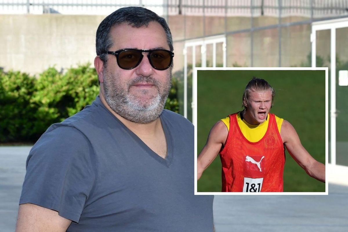 Raiola spremio osvetu Dortmundu: Šta će se desiti ako odbiju prodati Haalanda ovog ljeta?