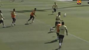 Najavio spektakl u nastavku sezone: Čudesan gol Messija na treningu
