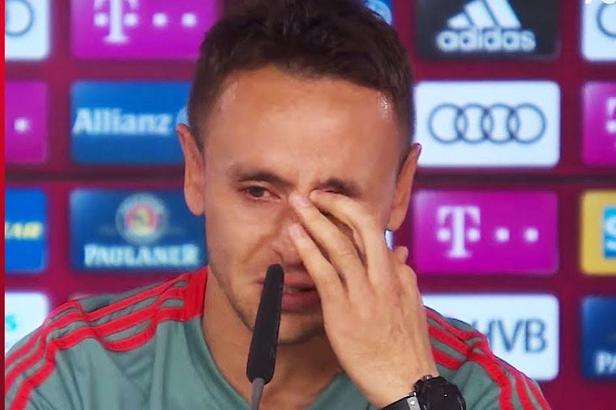 Dok se Rafinha opraštao jedan igrač Bayerna je plakao