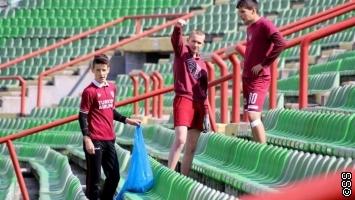 FK Sarajevo organizovao akciju čišćenja stadiona Koševo