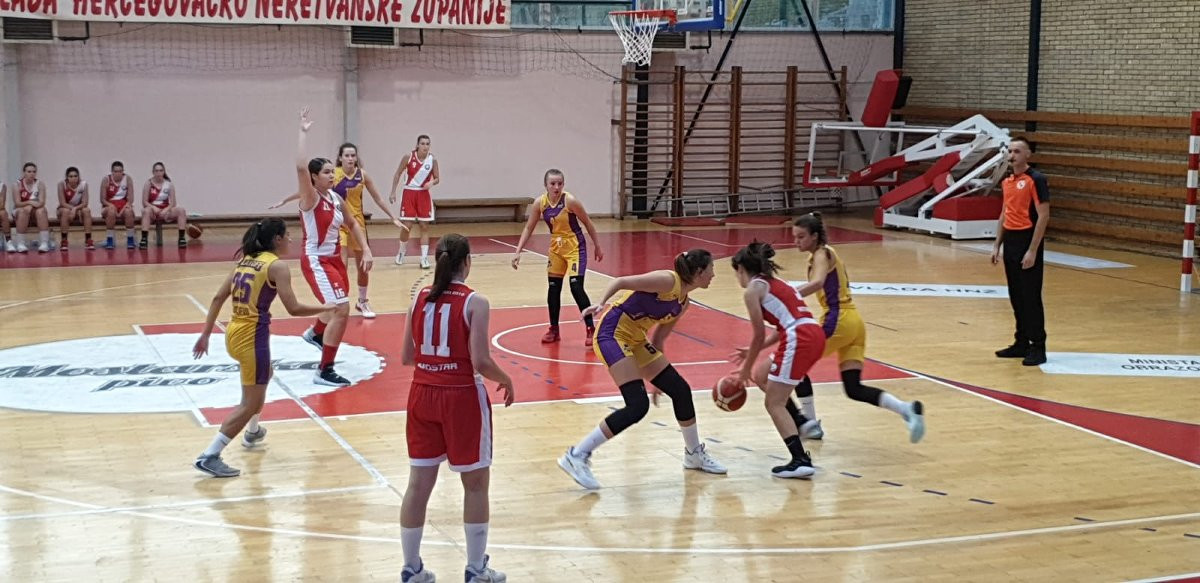 Sjajan uspjeh mostarskih košarkašica: ŽKK Zrinjski plasirao se u finale juniorskog prvenstva BiH