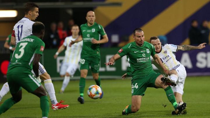 Tomić bolji od Pirića i Mešanovića: Olimpiji Kup Slovenije, meč prekidan u nekoliko navrata