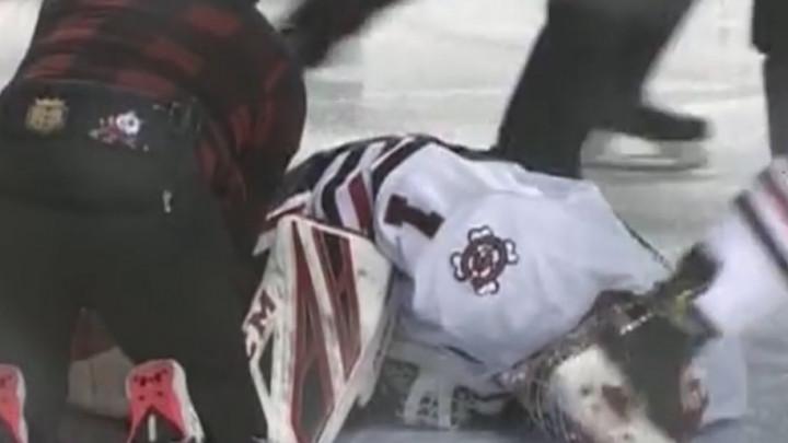 Stravične scene sa hokejaške utakmice: Svi su ostali nijemi zbog dešavanja na ledu
